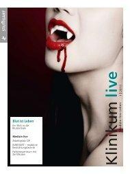 Blut ist Leben - Klinikum Stuttgart
