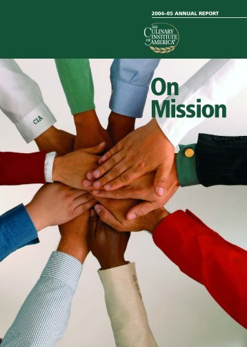 On Mission - The Culinary Institute of America