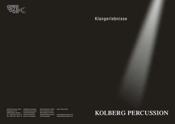 PDF 4,2 MB - Kolberg Percussion