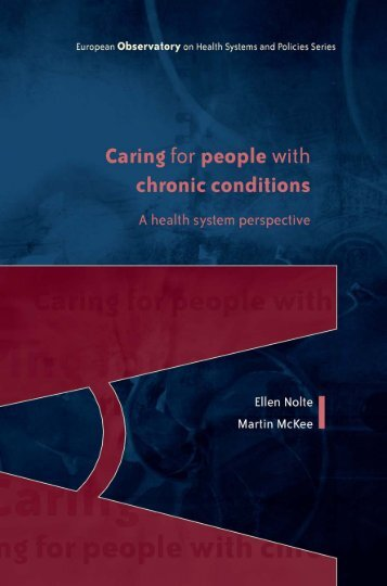 Caring for people with chronic conditions - World Health ...
