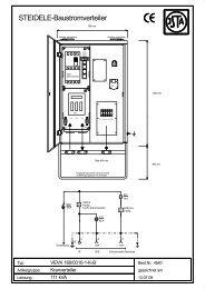 STEIDELE-Baustromverteiler - Steidele Stromverteiler