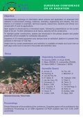 EUROPEAN CONFERENCE ON UV RADIATION - Page 2