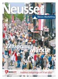 Neusser: Zeitsprünge Märkte - Neuss Marketing