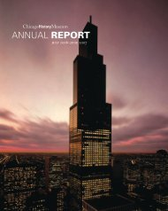Chicago History Museum Annual Report July 2006-June 2007