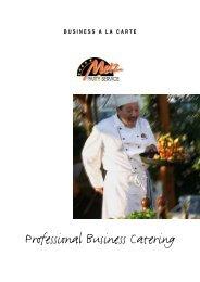 Professional Business Catering - Felix Bartsch
