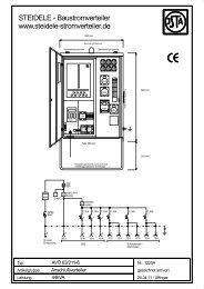 1220A - AVÖ 63-211-6.SKF - Steidele Stromverteiler