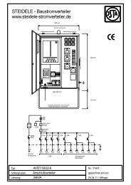 1190T - AVÖT 50-22-6.SKF - Steidele Stromverteiler