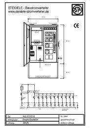 AVL 63/321-6 - Steidele Stromverteiler