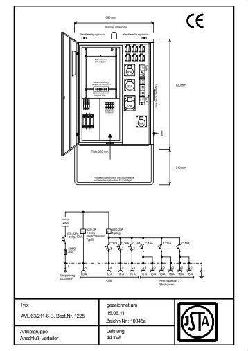 AVL 63/211-6-B - Steidele Stromverteiler
