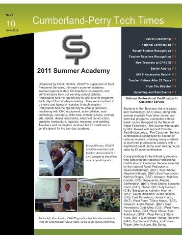 2011 Summer Academy - Cumberland Perry AVTS