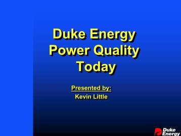 Duke Energy Power Quality Today - Narucpartnerships.org