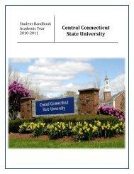 Student Handbook - Central Connecticut State University