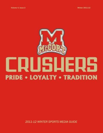 2011-12 WINTER SPORTS MEDIA GUIDE - Bishop McCort Athletics ...