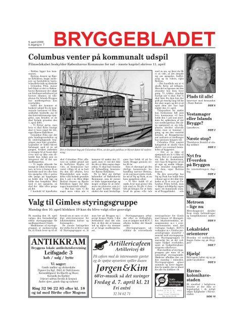 Bryggen – kvarter eller bydel Om at bygge broer - Bryggebladet