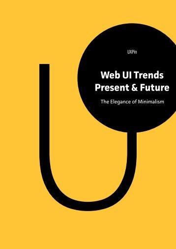 Web UI Trends Present & Future - UXPin