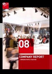 Company report 2008 - GL events