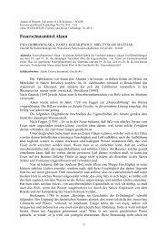 Feuerschutzmittel Alaun - Annals of Warsaw University of Life ...