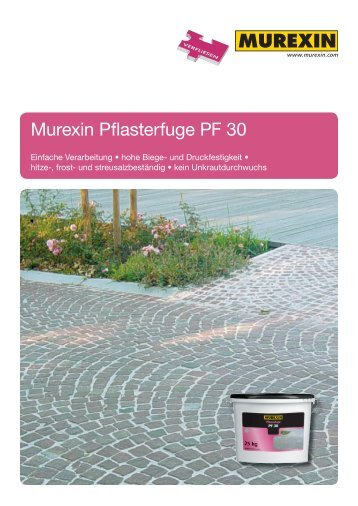 Murexin Pflasterfuge PF 30 - Murexin AG