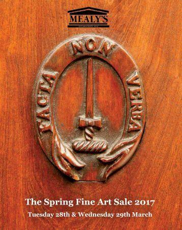 The Spring Fine Art Sale 2017