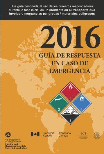 GUIA DE RESPUESTA EN CASO DE EMERGENCIA 2016