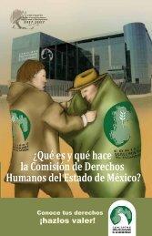 ¿Qué es y qué hace la Comisión de Derechos Humanos del Estado de México?