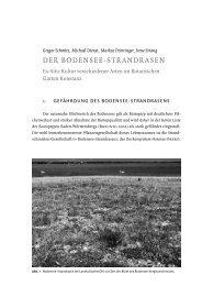 DER BODENSEE-STRANDRASEN - Universität Konstanz