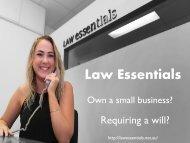 Law Essentials - Australia