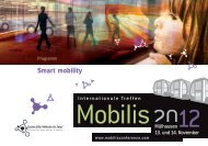 Smart mobility - Mobilis