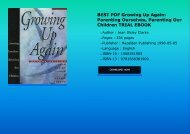 BEST-PDF-Growing-Up-Again-Parenting-Ourselves-Parenting-Our-Children-TRIAL-EBOOK