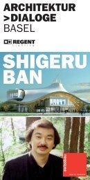 SHIGERU BAN - Architektur Dialoge Basel