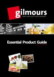 Essential Product Guide - Gilmours