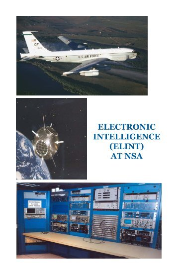 electronic intelligence (elint) at nsa - National Security Agency
