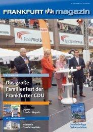 FRANKFURT magazin Das große Familienfest der ... - Weiteren
