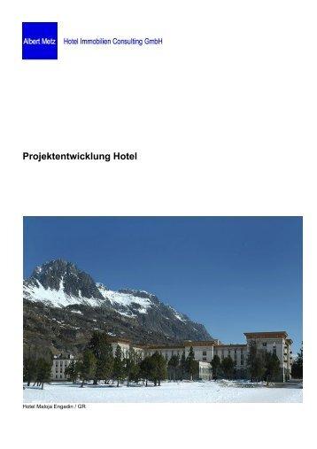 Projektentwicklung Hotel - Metz Consulting GmbH