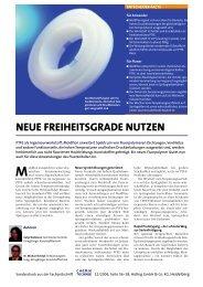 NEUE FREIHEITSGRADE NUTZEN - ElringKlinger Kunststofftechnik