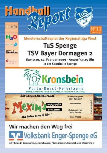 TuS Spenge TSV Bayer Dormagen 2
