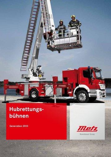 Hubrettungs- bühnen - BTL Brandschutz Technik GmbH Leipzig