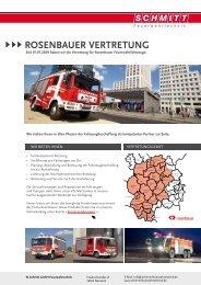 RosenbaueR VeRtRetung - Schmitt Feuerwehrtechnik