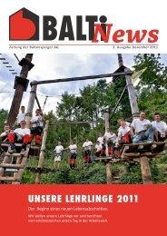 unsere lehrlinge 2011 - Baltensperger AG