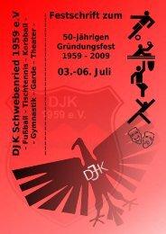 03.-06. Juli Festschrift zum