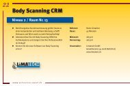 Body Scanning CRM