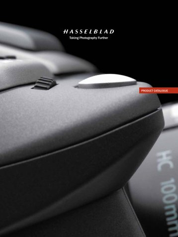 PRODUCT CATALOGUE - Hasselblad