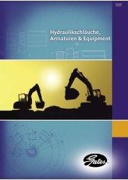 HydrauliLschläuche, Armaturen & ERuipment