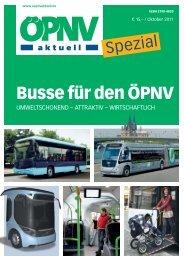 Busse für den ÖPNV - ÖPNV aktuell