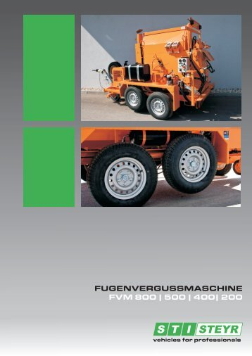 Produktfolder_Fugenvergussmaschine_FVM_400 - STI | Steyr Trucks
