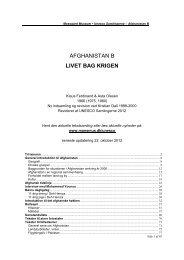 AFGHANISTAN B LIVET BAG KRIGEN - UNESCO Samlingerne