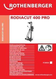 BA Umschlag RODIACUT 400 PRO 1008 - ROTHENBERGER