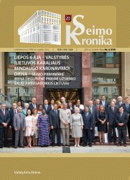pLenarinis posÄ—dis - Lietuvos Respublikos Seimas