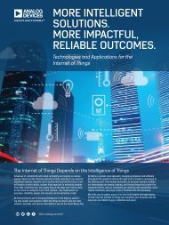 MORE INTELLIGENT SOLUTIONS MORE IMPACTFUL RELIABLE OUTCOMES