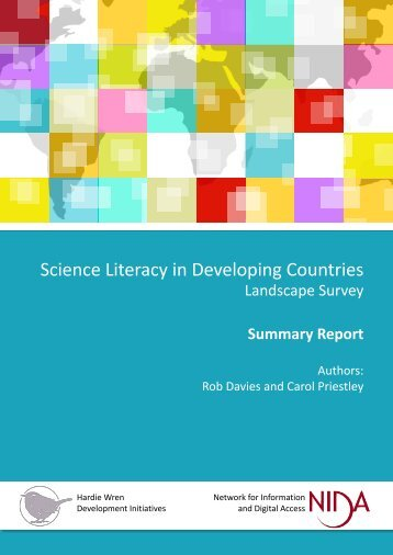 Science Literacy in Developing Countries
